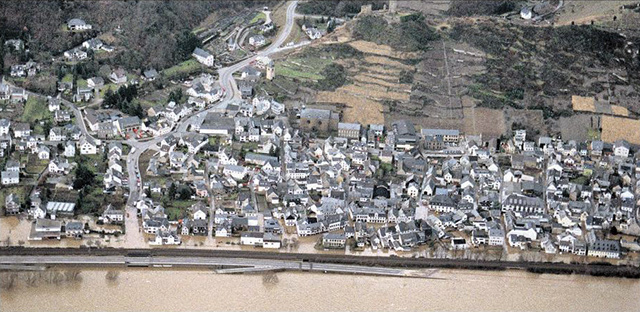 Hochwasser Dezember 1993 | Rhein-Zeitung 29.05.2009 - Foto: Thomas Frey ©