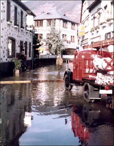 Hochwasser Neuhahr 1982